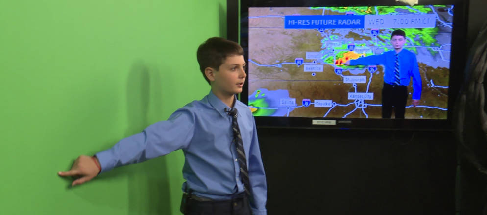 How The Weather Channel Helped One Kid's Dream Come True