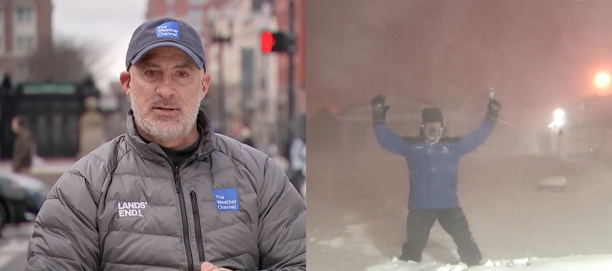 How Jim Cantore Made Thundersnow a Cultural Phenomenon