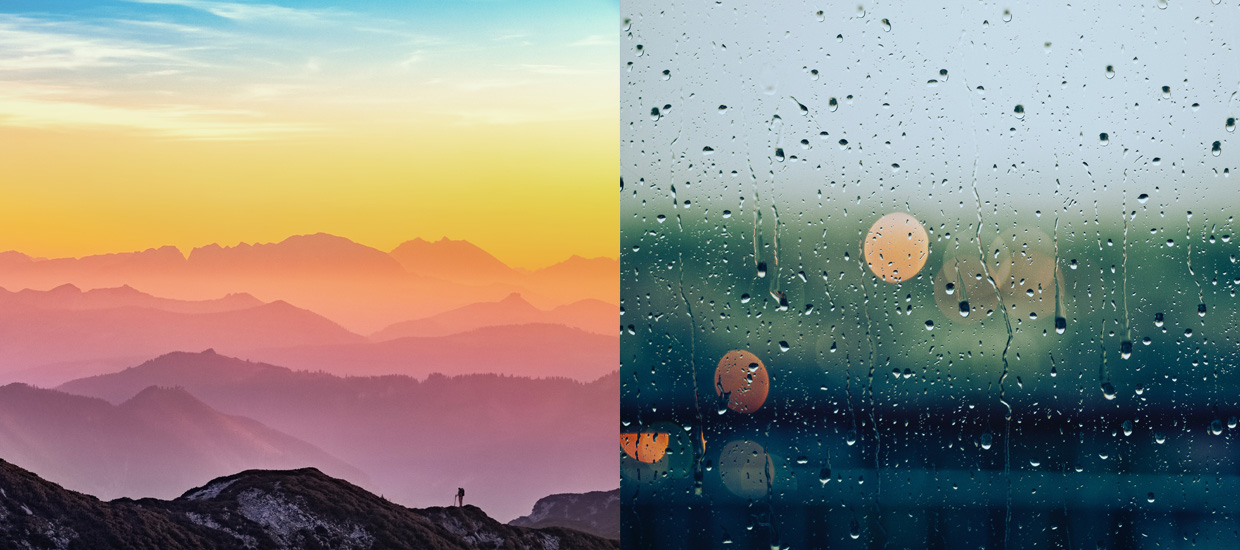 Quiz: This Color Test Will Reveal Your Ideal Weather Conditions