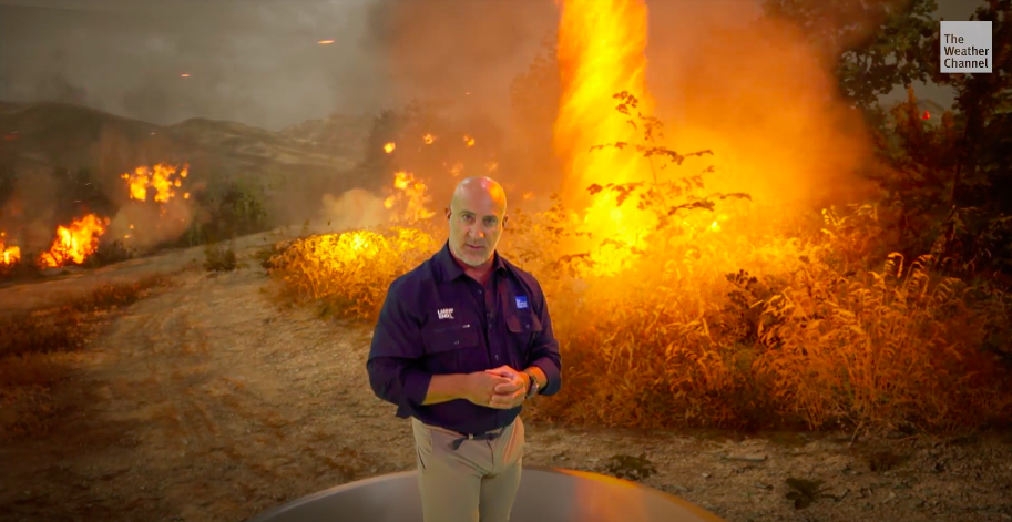 WATCH: Inside a Firenado